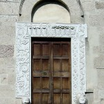 San Nicolò Original portal is exhibited at the Metropolitan Museum NY