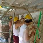 rimozione stuccatura