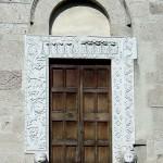 San Nicolò Original portal is exhibited at the Metropolitan Museum NY