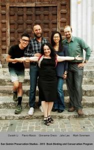 2013 Bindig Group Photo